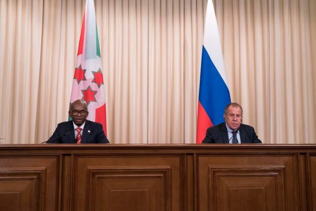 PANAF.NEWS - Russia Burundi in  moscow (2017 10 12) ENGL