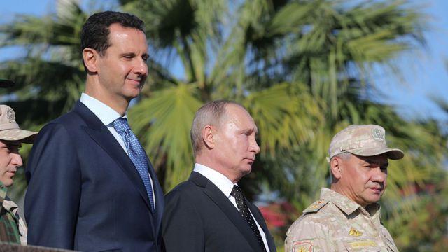 LM.GEOPOL - Poutine tsar de  l'Orient I syrie (2017 12 18) FR 1