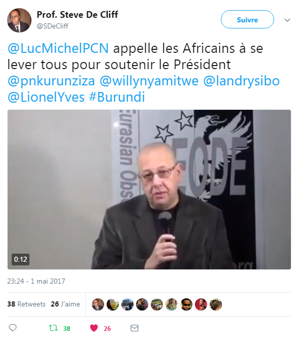 luc michel burundi