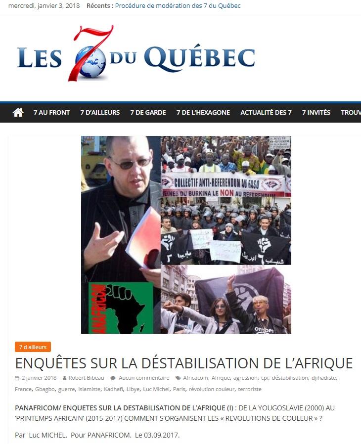 LM.NET - 7QUEBEC afrique agression  II (2017 01 02)