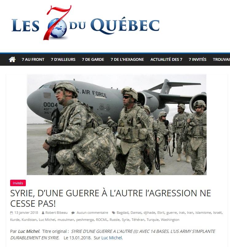 LM.NET - 7QUEBEC débat turquie en syrie (2018 01 15)