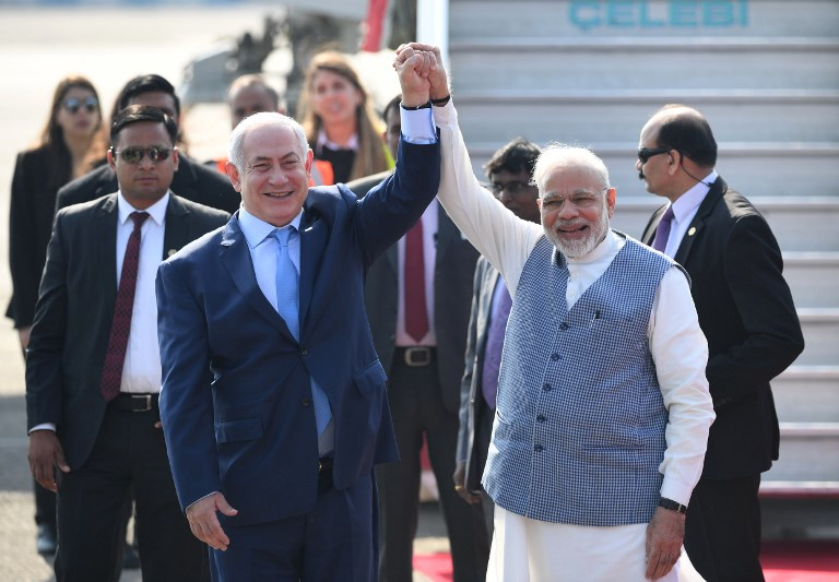 INDIA-ISRAEL-POLITCS-DIPLOMACY