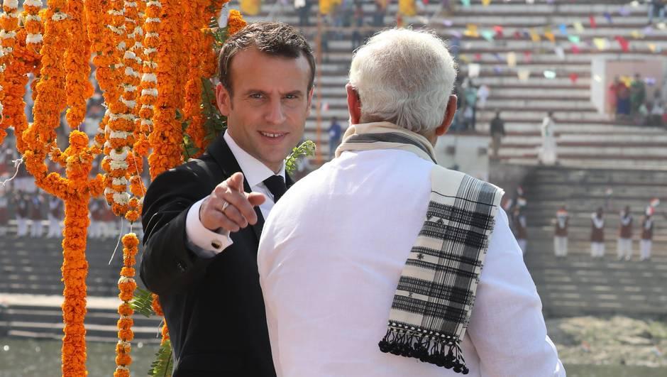 INDIA-FRANCE-POLITICS-DIPLOMACY