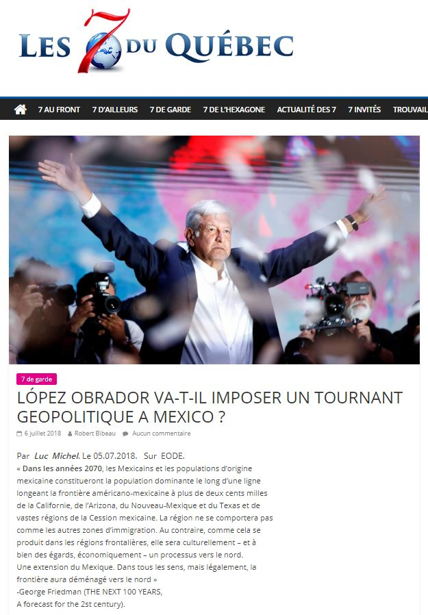 RP LM.GEOPOL - 7québec mexique (2018 07 31)