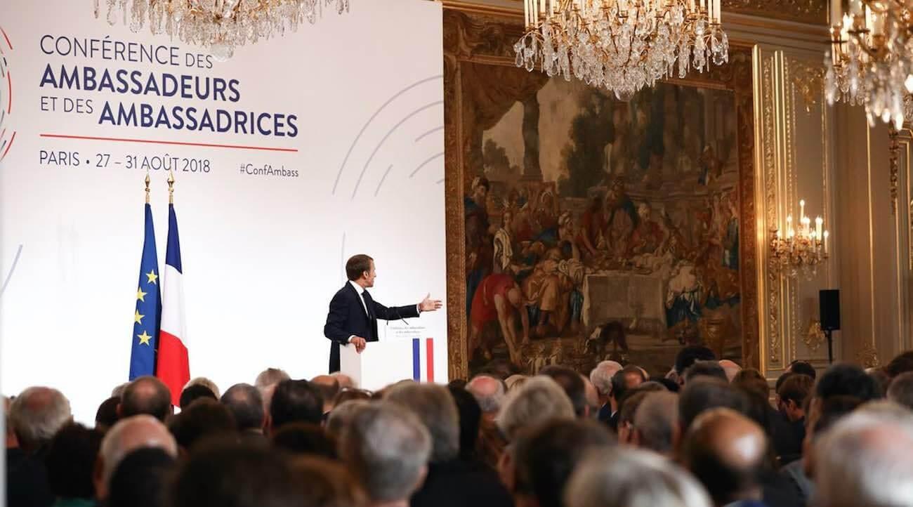 LM.GEOPOL - Macron 2e ambassadeurs   I (2018 08 31) FR (1)