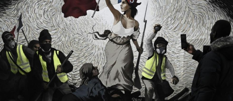 NNK - Gilets jaunes I fresque (2019    01 09) FR