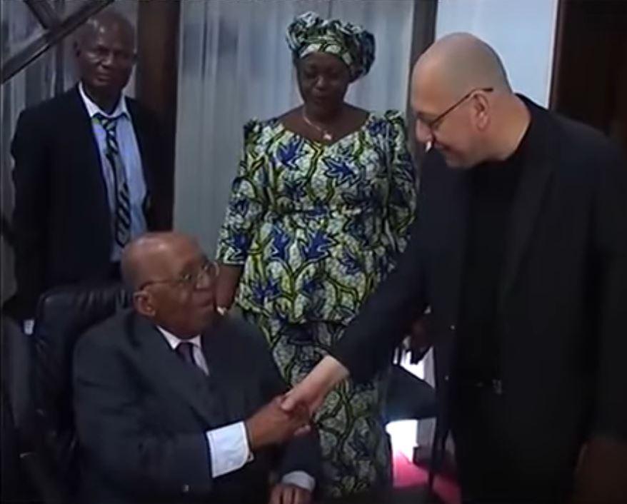 # PANAFRICOM-NEWS- IN MEMORIAM ANTOINE GIZENGA 1925-2019