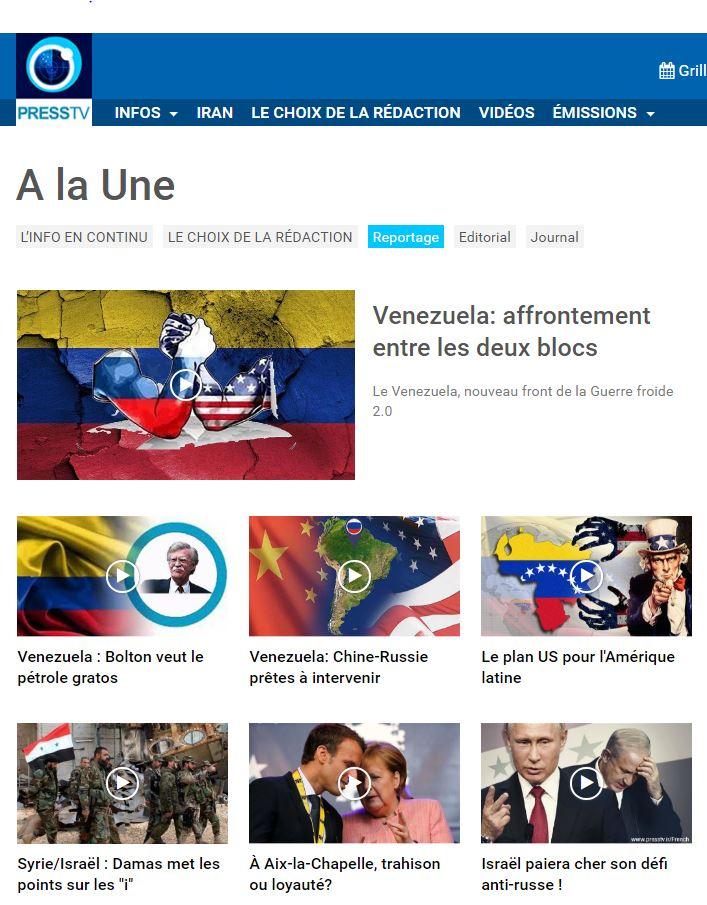 PUB LM.GEOPOL DAILY - Pub série videos venezuela (2019 02 03) FR