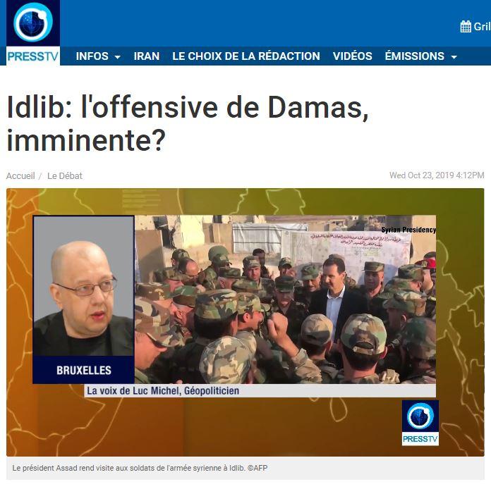 VIDEO.FLASH.GEOPOL syrie invasion turque III assad -  (2019 10 24) FR