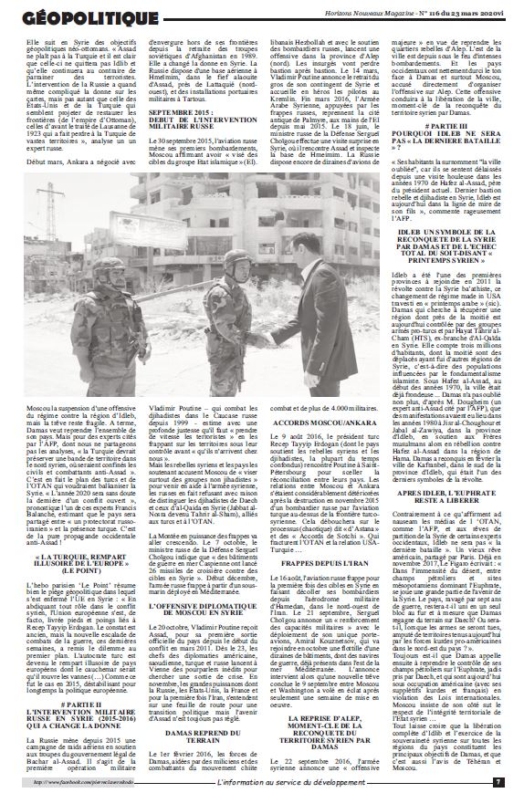 RP LM.GEOPOL - NHM dix ans guerre en syrie lm (2020 03 23) FR  (2)