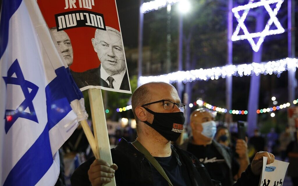 ISRAEL-HEALTH-VIRUS-POLITICS-DEMO